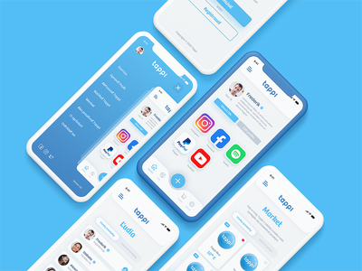 Tappi App brand nfc uiux designs ui kit app ui kit ui for mobile app app design android app ios app mobile app mobile design ux  ui ux ui application app ui app