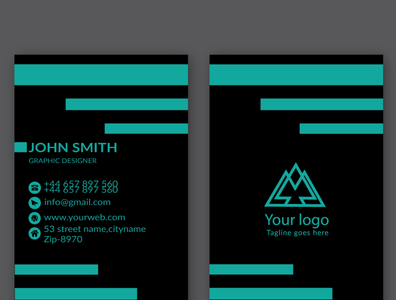 business card design template minimal professional business card official commercial corporate flyer design logodesign professional design visiting card design personal brand identity identity design template design business card