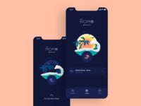 Radio Momo — App mobile app app mobile ui design whitespaces user experience design ux clean ui
