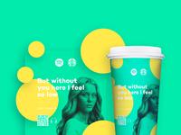 Spotify starbucks cups