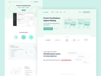 Monitof - Landing Page