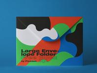 Free Folder Psd Envelope Mockup