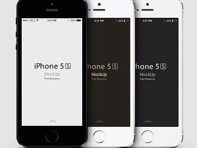 iPhone 5S Psd Vector Mockup iphone 5s psd vector mockup