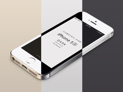 Perspective iPhone 5S Psd Vector Mockup perspective iphone 5s psd vector mockup