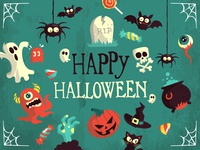 Halloween Vector Art Pack Freebie