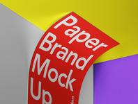 Free Letterhead Psd Paper Mockup branding mockup paper mockup
