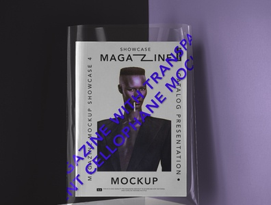Transparent Cover Psd Magazine Mockup magazine cover magazine design magazine mockups magazine mockup