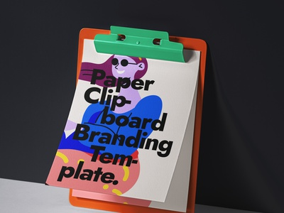Free Paper Psd Clipboard Mockup clipboard mockup clipboard