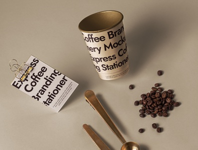 Free Branding Psd Coffee Set Mockup coffee shop paper cup mockup coffee mockup