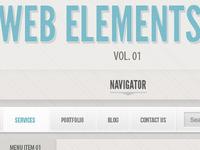 Classic Grey Psd Web UI Set (Freebie)