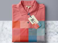 Psd polo shirt mockup