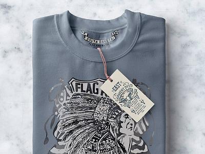 Free Folded Psd Sweatshirt Mockup sweatshirt