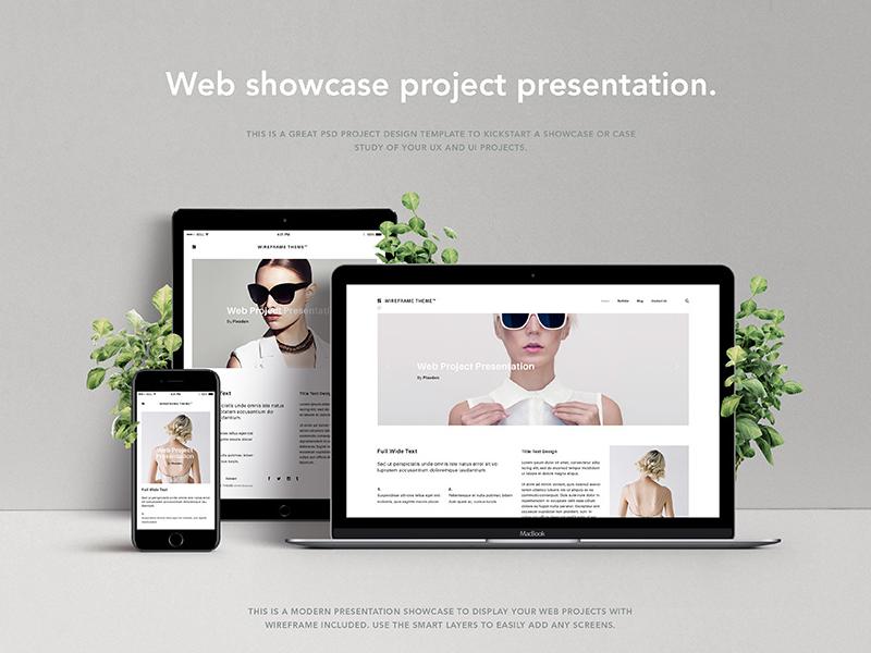Free Psd Screen Web Showcase showcase web screen psd free
