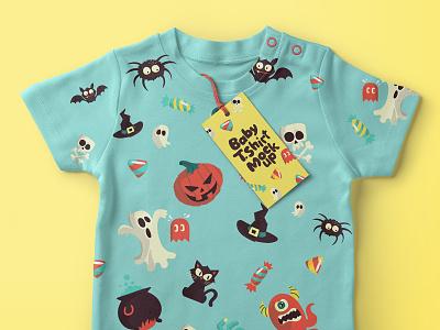 Free Baby T-shirt Psd Mockup