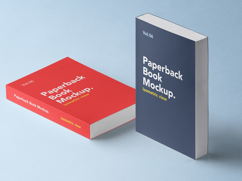 Free Paperback Psd Book Mockup mockup book psd paperback