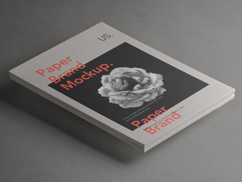 Free Psd Paper Brand Mockup mockup brand paper psd