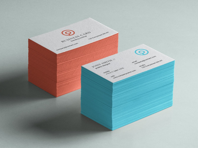 Free Business Card Mockup Psd mockup card business psd