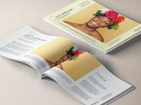 Free Psd A4 Landscape Magazine Mockup