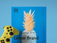 Free Psd Paper Brand