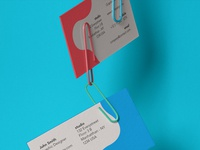 Free Clipped Psd Business Card Mockup