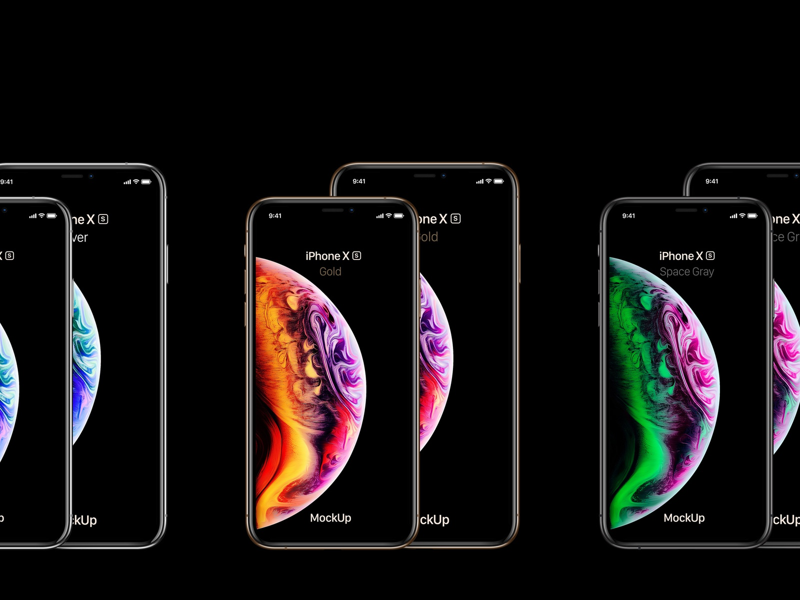 Free Psd iPhone Xs Max Mockup