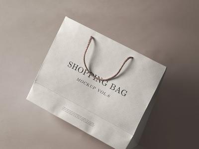 Free Psd Shopping Bag Mockup