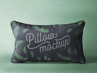 Free Rectangular Psd Pillow Mockup