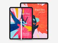 Free Psd iPad Pro Mockup