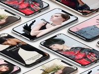Free iPhone XS psd Mockup