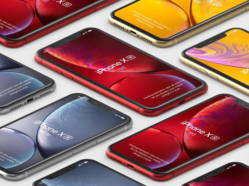 Free iPhone XR Psd Mockup Vol2 psd mockup free iphone x mockup iphone xr