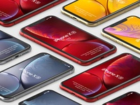 Free iPhone XR Psd Mockup Vol2