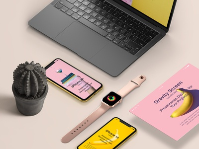 Free Psd Project Devices Showcase