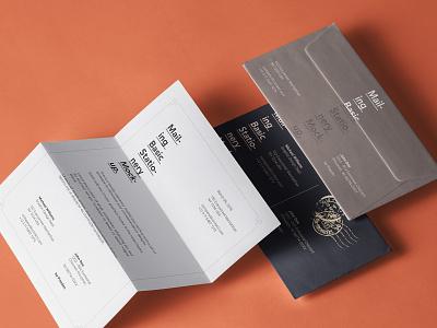 FREE Basic Mailing Stationery Mockup paper mockup envelope mockup