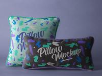 Free Psd Throw Pillow Mockup Set