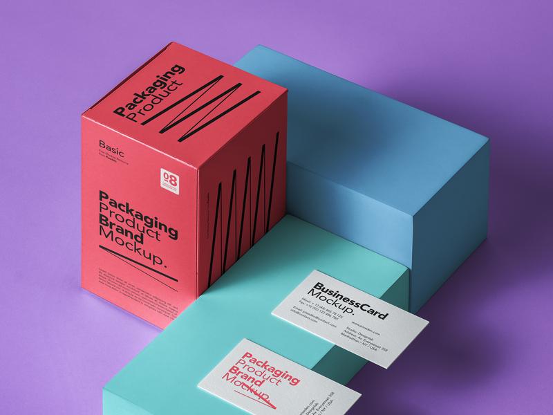 Free Product Psd Packaging Mockup box mockup packaging mockup