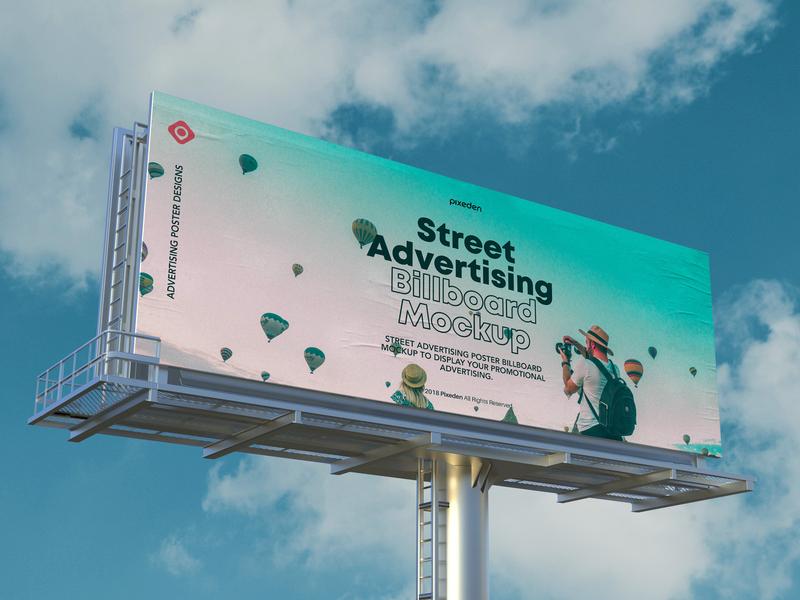 Free Psd Billboard Mockup billboard mockup advertising