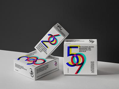 Free Psd Packaging Box Mockup Set packaging mockup box mockup