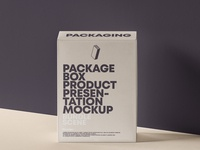 FREE Psd Product Packaging Box Mockup