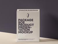 FREE Psd Product Packaging Box Mockup