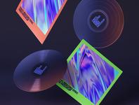 Free Gravity Psd Vinyl Mockup