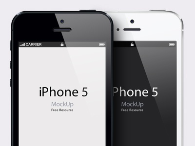 iPhone 5 Psd Vector Mockup iphone 5 psd vector mockup