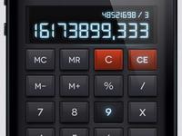 iOS Psd Calculator UI Kit