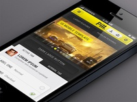 Pill Iphone App UI kit