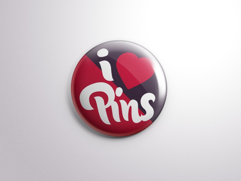 Free Psd Button Badge Pin Mock-Up psd button badge pin mock-up