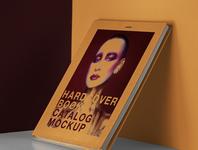 Free Psd Catalog Book Mockup