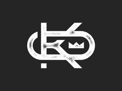 Only King Logo illustration marco fesyuk crown jesus god only monogram black king shirt