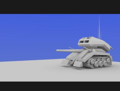 The battle tank