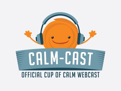 Calmcast Badge illustration