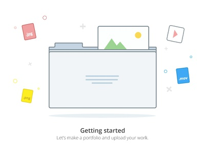 2 illustration - Empty states states empty states empty design app vector illustration sevice welcome page clean minimal ui