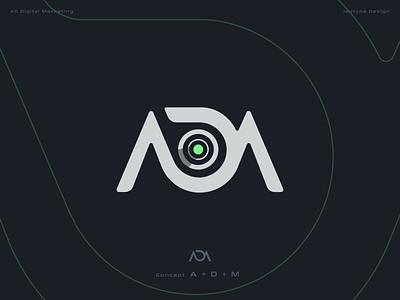 All Digital Marketing flat illustrator ui icon design vector branding minimal typography logo